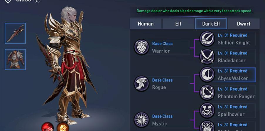 Dark Elf Abyss Walker Guide: Skill Build - Lineage 2