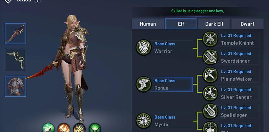 Elf Rogue Guide: Skill Build - Lineage 2 Revolution Hub